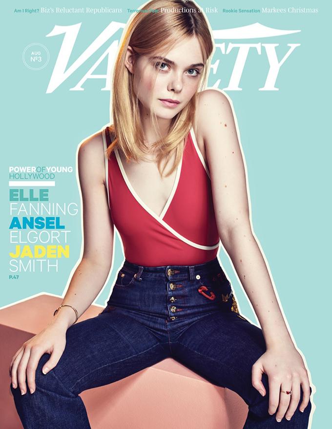 Элль Фаннинг в Variety Magazine