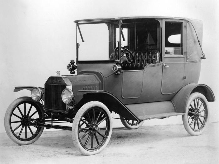 Ford Model T Автомобиль Ford Model T 1908 года — настоящая легенда. Более того, он еще и настоящий с