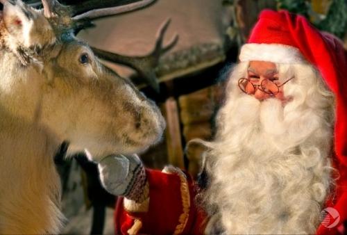 РФ стала первой остановкой вкругосветном путешествии Санта Клауса