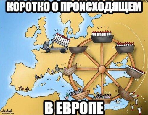 Россия и Запад: Политика в картинках #30
