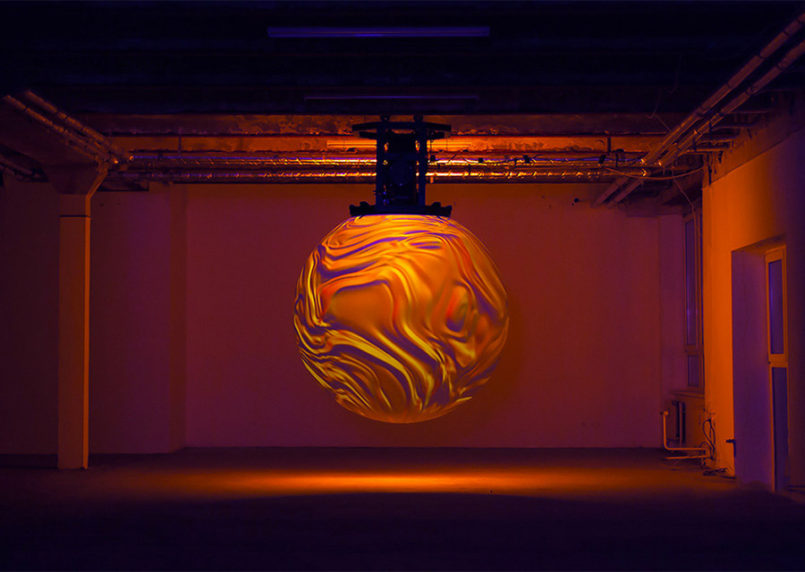 Anima: Interactive Art Installation by Onformative
