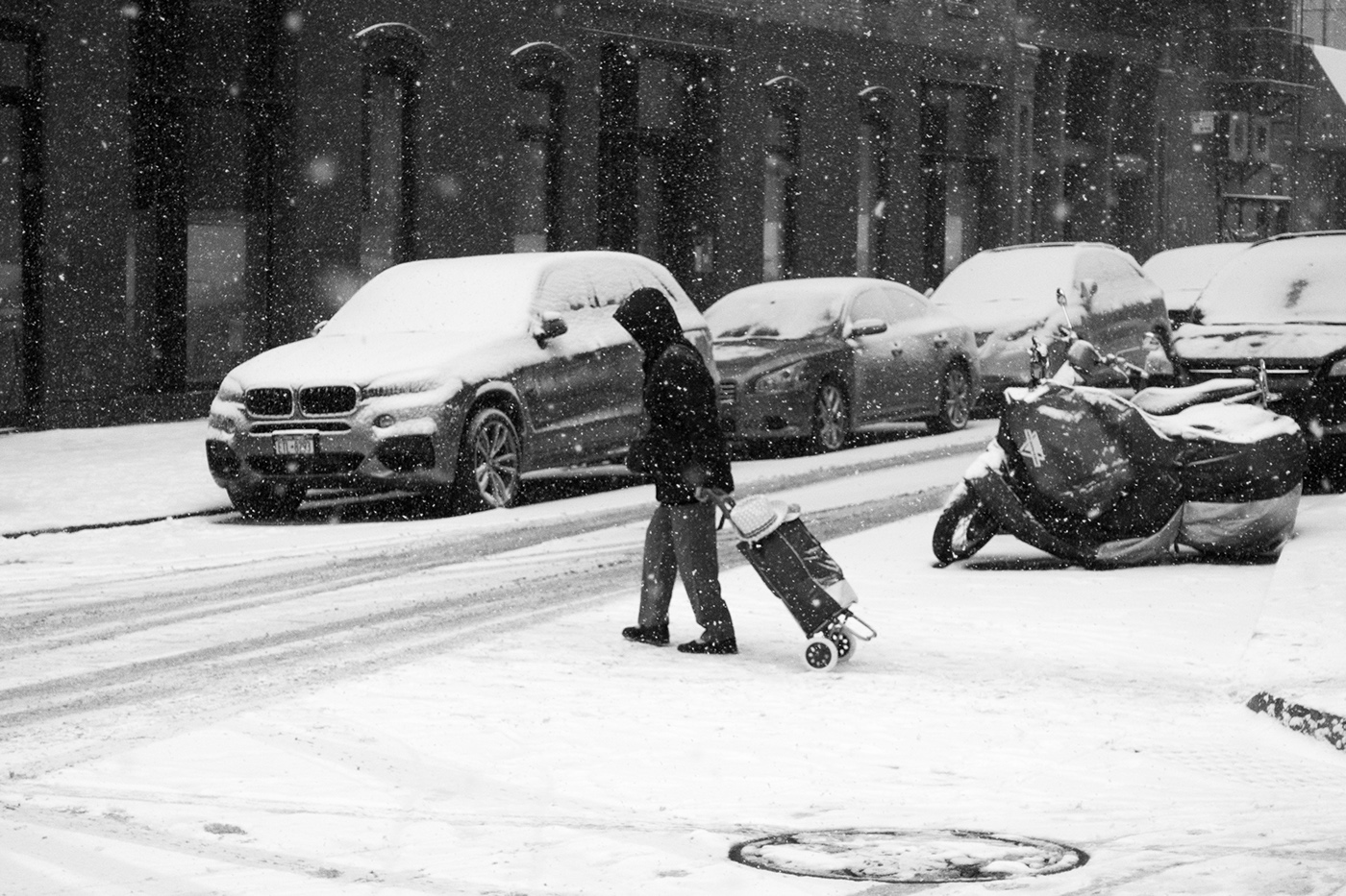Beautiful Black & White Photographs of Snowy Winter in New York