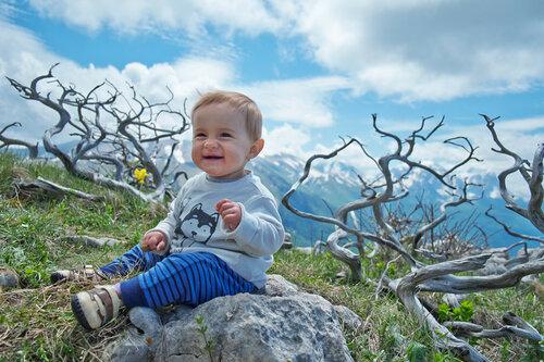 Поход с ребенком на плато Черногор. 10 месяцев.