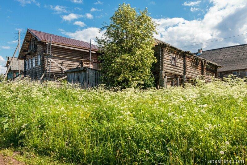 Старые дома, Карелия, Пяльма