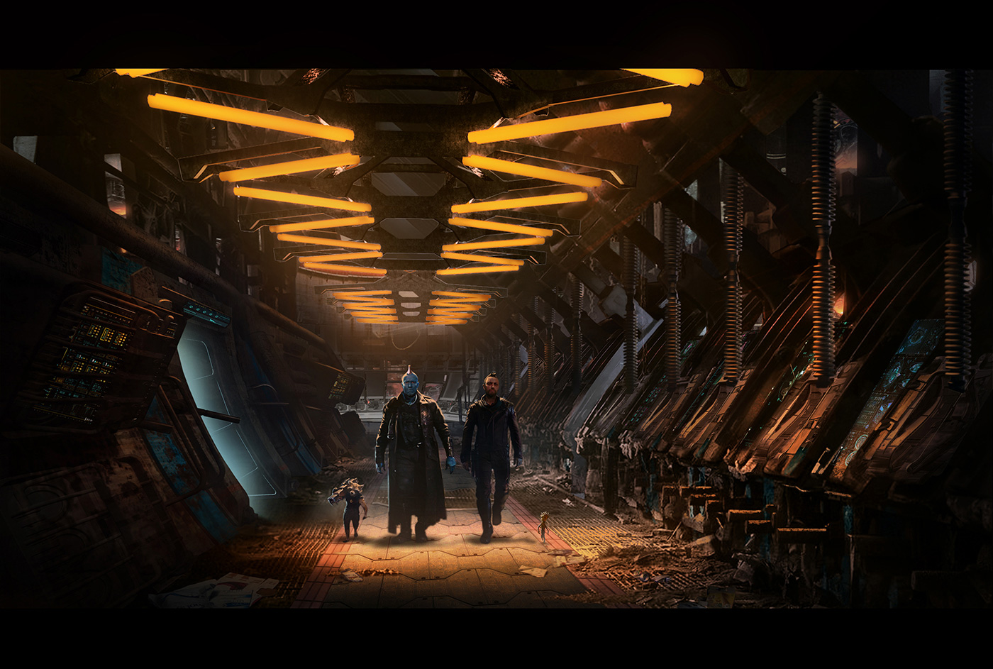 Guardians of the Galaxy Vol.2 Concept Art by Jonathan Bach