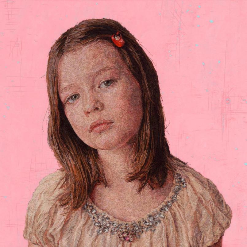 Embroidered Portraits by Cayce Zavaglia