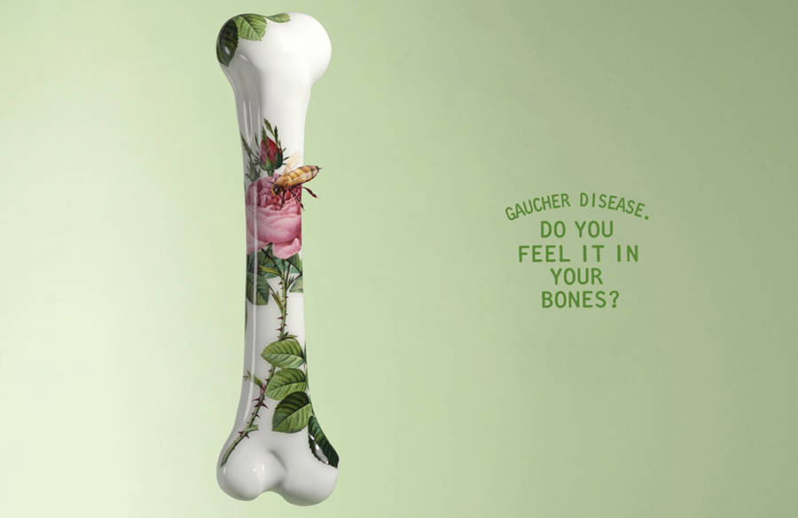 Delicate Awareness Campaign for Gaucher Disease (6 pics)