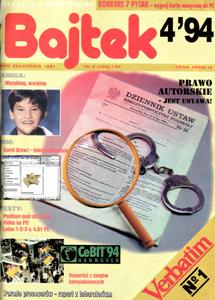 Журнал: Bajtek (на польском) - Страница 4 0_12c841_7a0e3d2d_orig