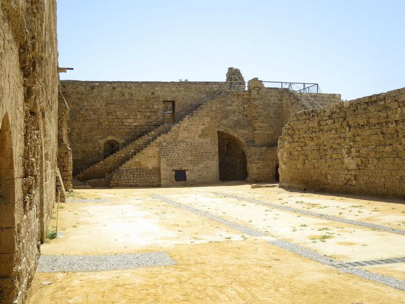 Фамагуста. Крепость. Восточная стена
