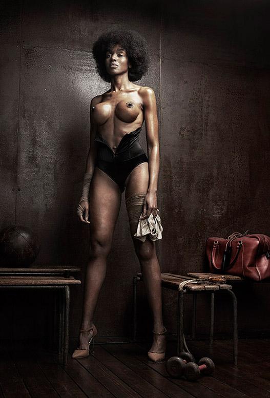 Aliane Uwimana Gatabazi, Mariame Sakanoko, Deborah Kadillac Ndimanyi, Aline Kittiphanh - Cloak Room by Martial Lenoir