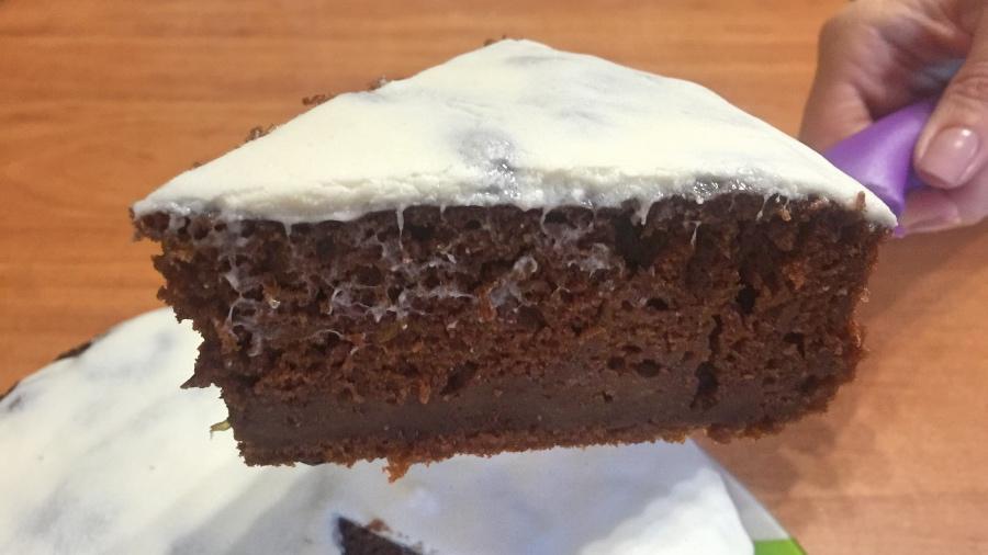 Кабачково-шоколадный пирог