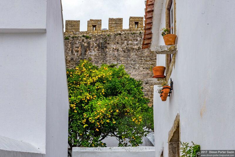 Португалия. Средневековый город Обидош