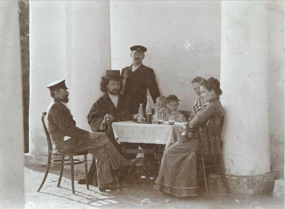 1900. Беседка Миловидова. село Царицыно