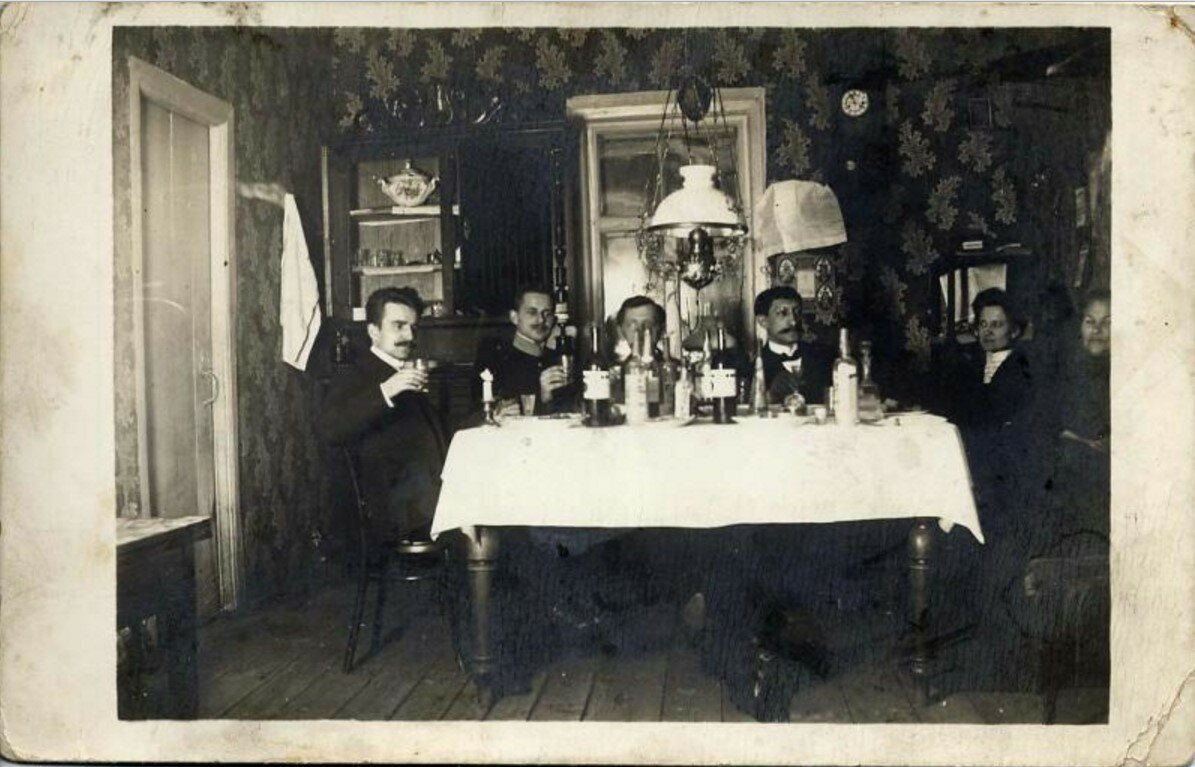 1900-е. Семейный праздник