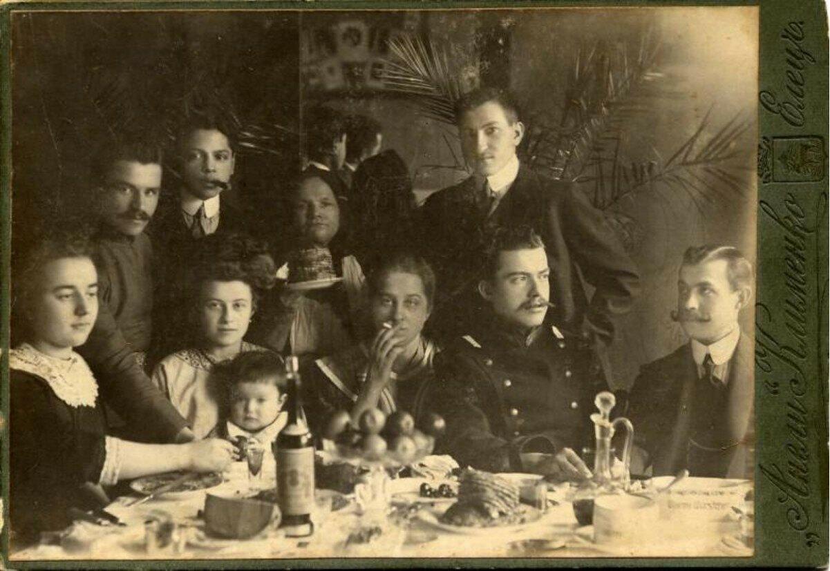 1903. Празднование Масленицы. Елец
