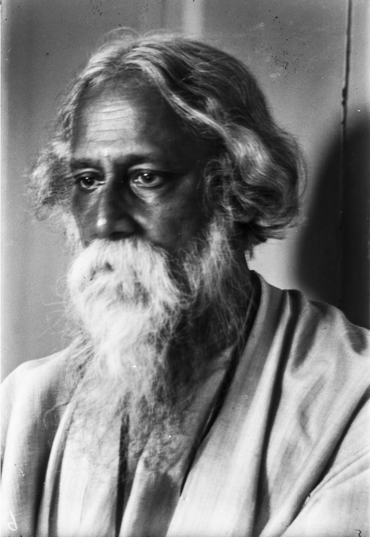 482. Антропометрический портрет бенгальского поэта и лауреат Нобелевской премии Рабиндраната Тагора