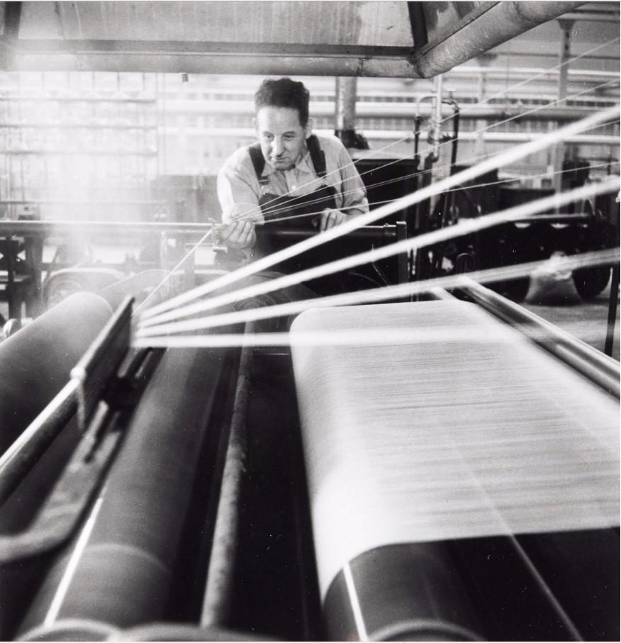 1946. Текстильная промышленность. Ткани на крашение (Верхний Рейн)