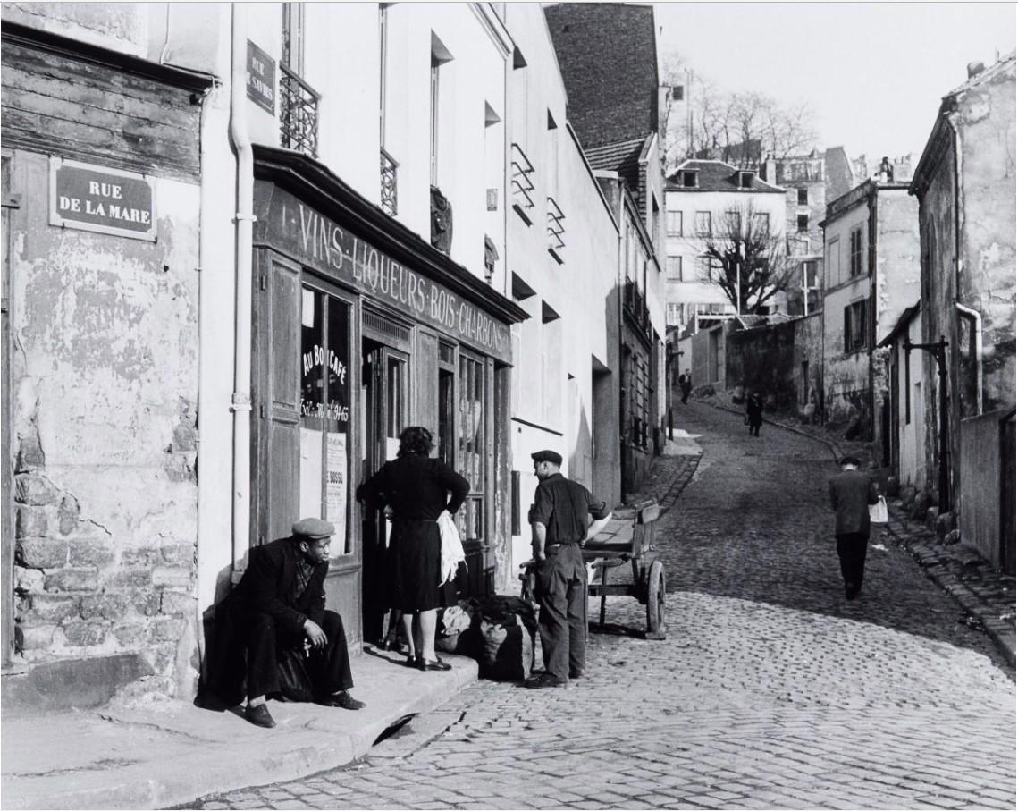 1950. Рю-де-ла-Мар. Бельвиль. Париж