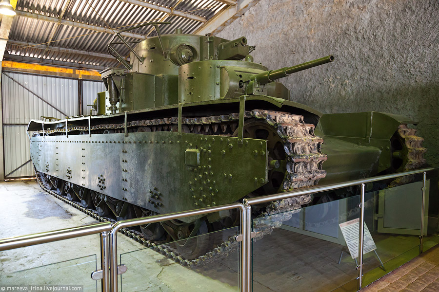 Музей Танковых Войск в Кубинке
