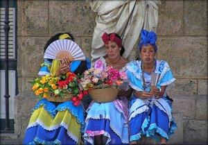 Кубинские модницы