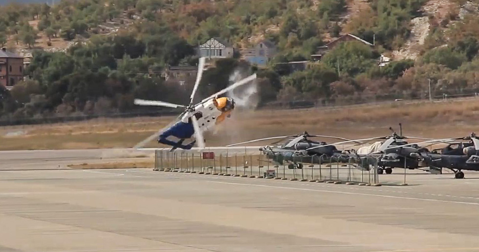 Крушение Ми-8