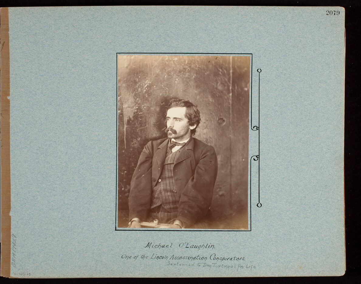 Michael O'Laughlin. One of the Lincoln Assassination Consiprators.