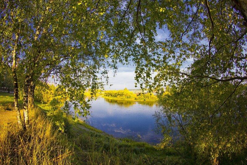 Река Ухта - это колыбель
