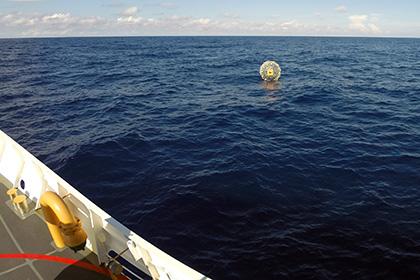 Мужчина хотел покинуть Америку в пластиковом надувном пузыре