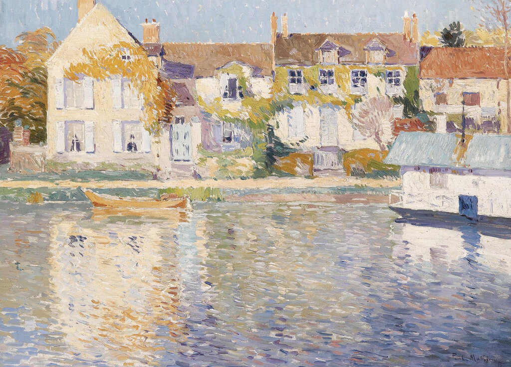 Paul Mathieu - Boat on the River.jpeg
