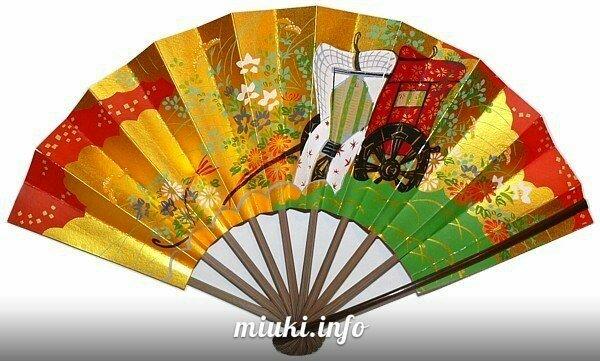 Складные японские веера Сэнсу и Оги