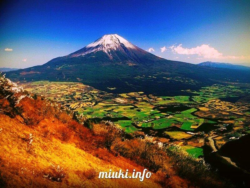 Гора Фудзияма (остров Хонсю)