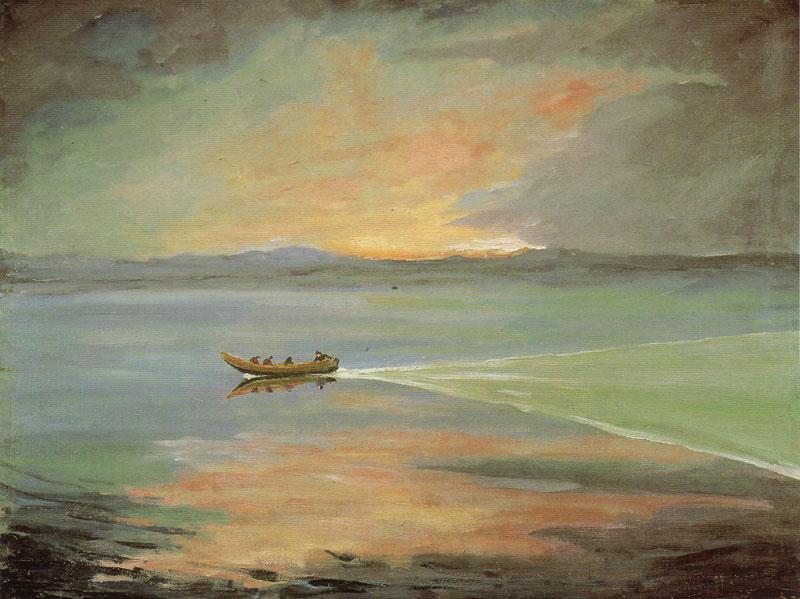 + 1925 Штиль, лодка..jpg