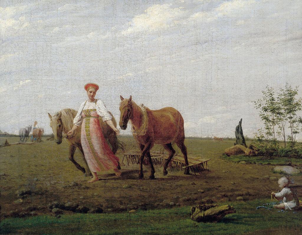 1057.Venecianov.Alekseiy.Gavrilovich.Na.pashne.Vesna.Seredina.1820-h.jpg