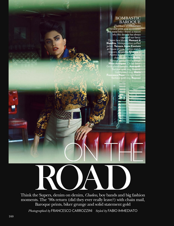 Nathalia Novaes для журнала Vogue India