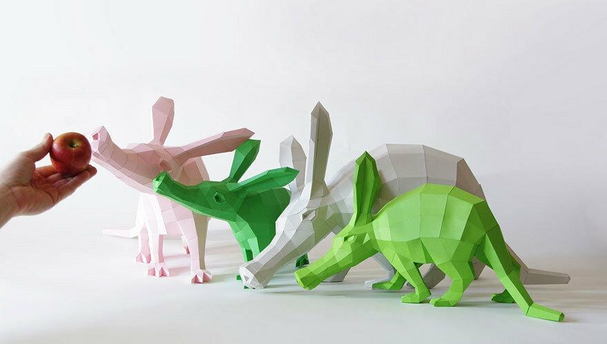 Как сделать 3d модель из бумаги