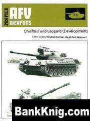 Книга Profile - AFV-Weapons Profiles. #018. Chieftain and Leopard pdf  15,7Мб