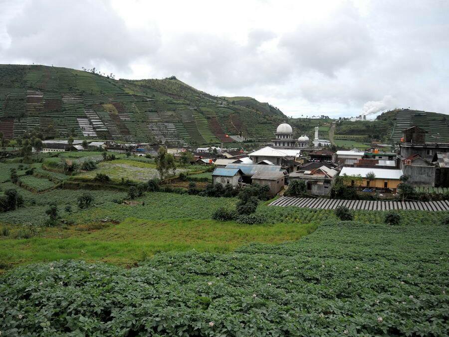 Пейзаж на Яве