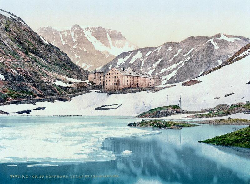30. Перевал Сен-Бернар, санаторий и озеро