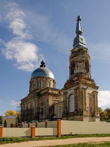 Храм Спаса Нерукотворного Образа в Рай-Семеновском.