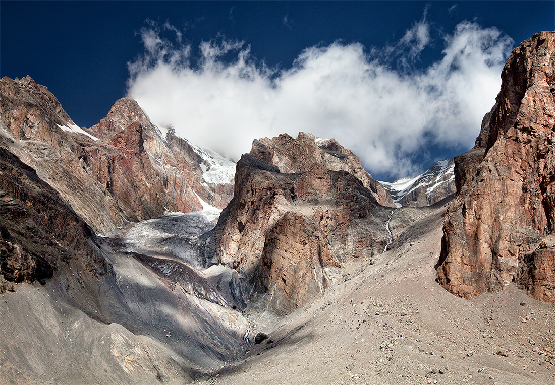 горный хребет