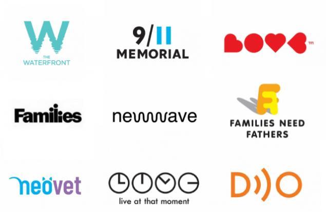 Сопряжение букв при создании логотипа