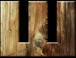 Буквы из досок-2