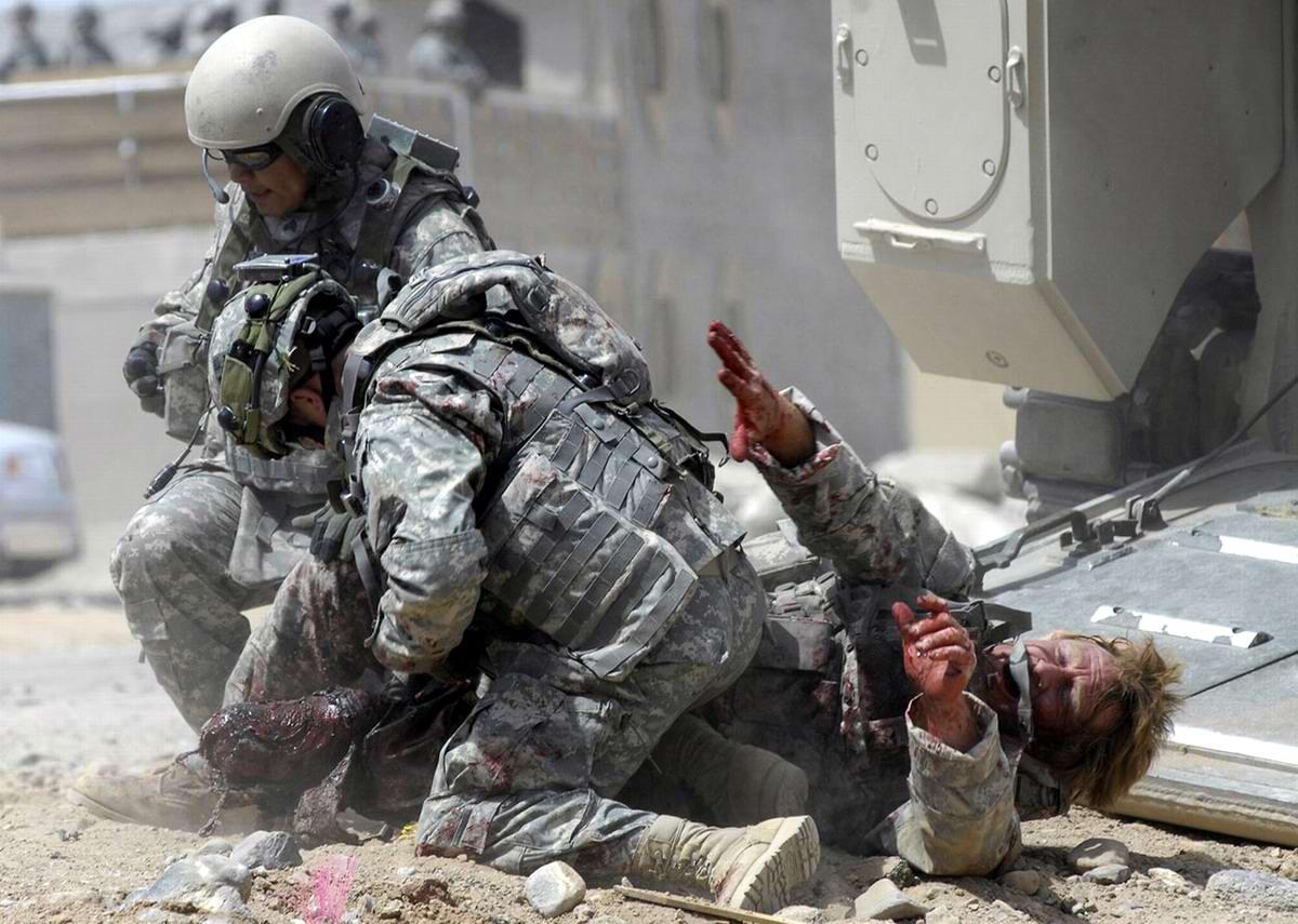 Афганистан в Калифорнии: имитация боевых действий в американской пустыне Мохаве (1)
