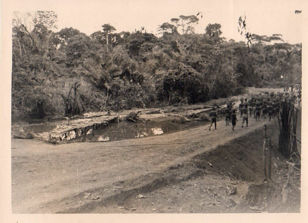 1930. Западная Африка, дорожное строительство
