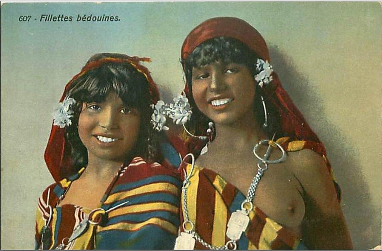 1900-е. Девушки бедуинки
