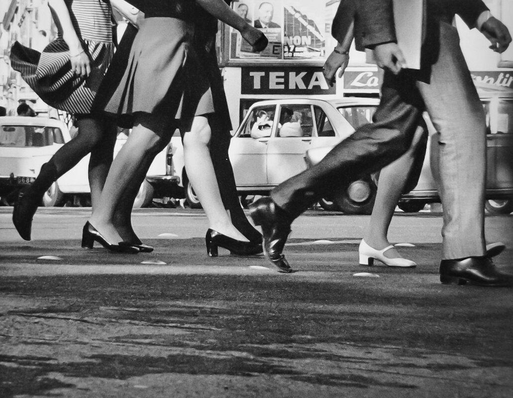 1960. Ноги в движении