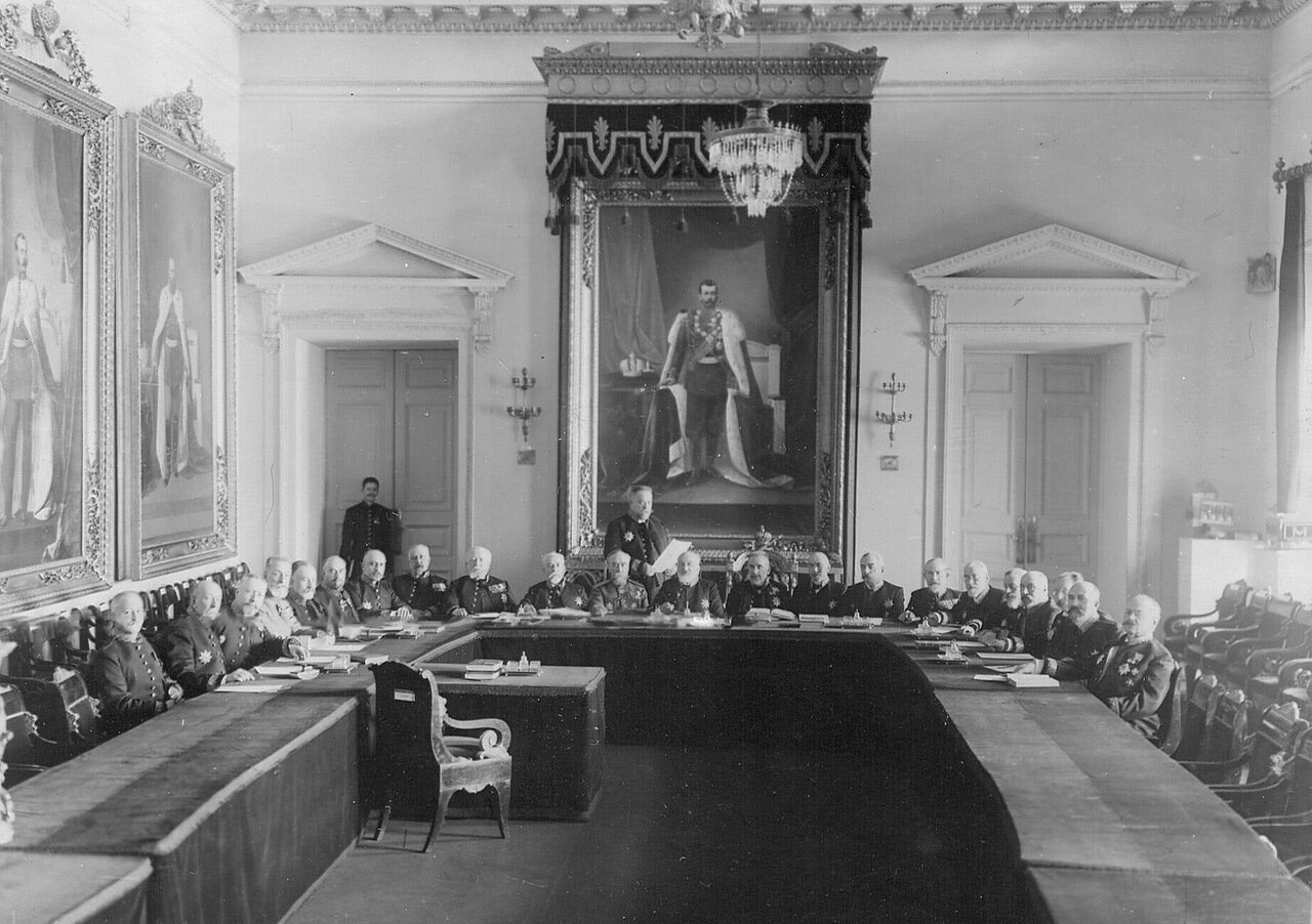 18. Заседание Сената. 1916
