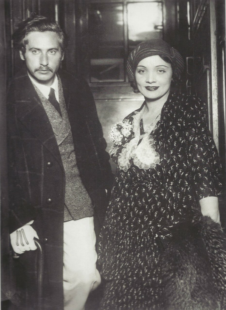 1930. Джозеф фон Штернберг и Марлен Дитрих, Берлин
