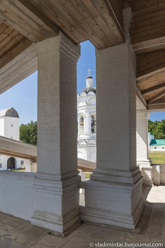 Паперть Храма Вознесения Господня в Коломенском