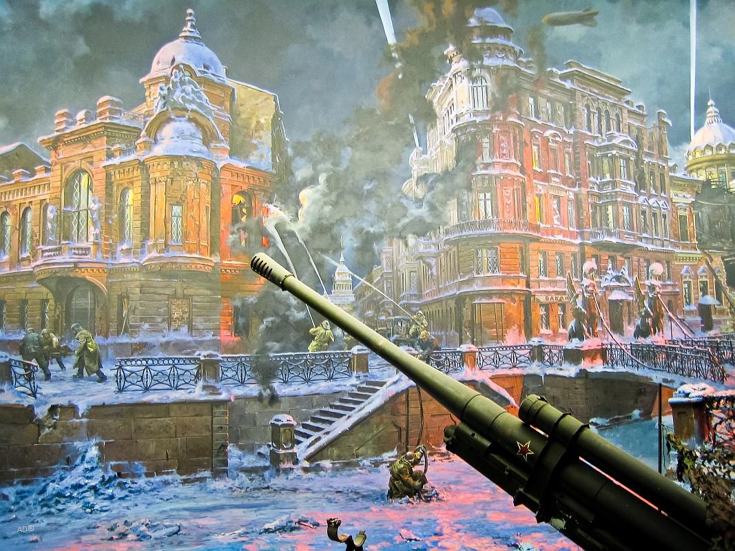 Центральный музей Великой Отечественной войны, Диорама «Блокада Ленинграда»